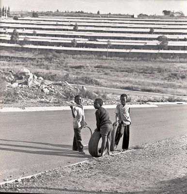 Boys Playing Soweto Transvaal, South Africa 1983