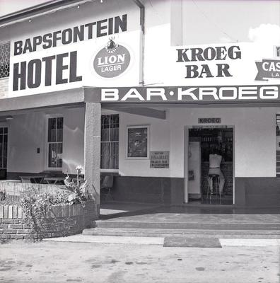 Bapsfontein Hotel, East Rand South Africa 1984