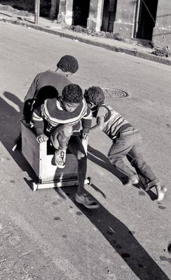 Children Playing District Six Woodstock Cape Town 1979